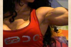 Super fitness Girl - muscular