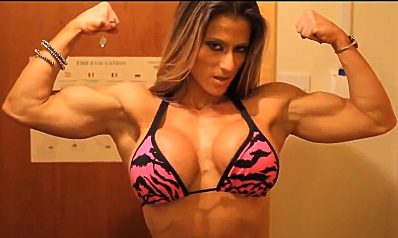 Muscular MILF